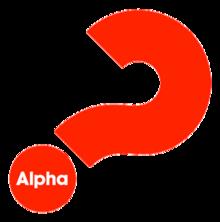 Logo Alpha, bezoek de app voor alle organisaties die Givt gebruiken
