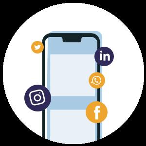 Social media is een handige tool om inzamelingsacties onder de aandacht te brengen